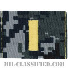 少尉(Ensign)[NWU Type1/キャップ用階級章/生地テープパッチ]の画像