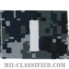 中尉(Lieutenant Junior Grade)[NWU Type1/キャップ用階級章/生地テープパッチ]の画像