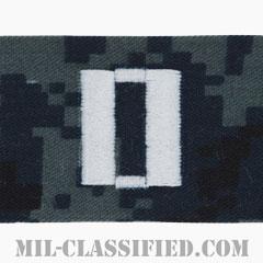 大尉(Lieutenant)[NWU Type1/キャップ用階級章/生地テープパッチ]の画像