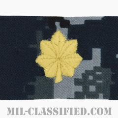少佐(Lieutenant Commander)[NWU Type1/キャップ用階級章/生地テープパッチ]の画像