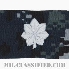 中佐(Commander)[NWU Type1/キャップ用階級章/生地テープパッチ]の画像