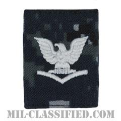 三等兵曹(Petty Officer Third Class)[NWU Type1/ゴアテックスパーカー用スライドオン階級章]の画像