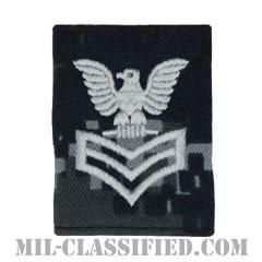 一等兵曹(Petty Officer First Class)[NWU Type1/ゴアテックスパーカー用スライドオン階級章]の画像