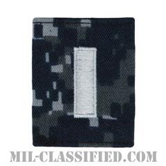 中尉(Lieutenant Junior Grade)[NWU Type1/ゴアテックスパーカー用スライドオン階級章]の画像
