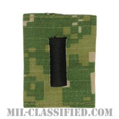 中尉(Lieutenant Junior Grade)[NWU Type3(AOR2)/ユニフォーム・パーカー用スライドオン階級章]の画像