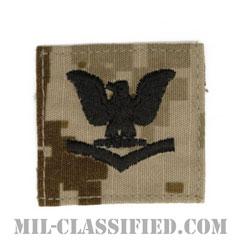 三等兵曹(Petty Officer Third Class)[NWU Type2(AOR1)/キャップ用階級章/パッチ]の画像