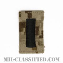 中尉(Lieutenant Junior Grade)[NWU Type2(AOR1)/キャップ用階級章/パッチ]の画像