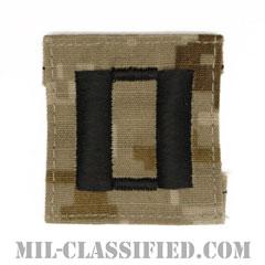 大尉(Lieutenant)[NWU Type2(AOR1)/キャップ用階級章/パッチ]の画像