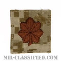 少佐(Lieutenant Commander)[NWU Type2(AOR1)/キャップ用階級章/パッチ]の画像