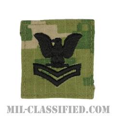 二等兵曹(Petty Officer Second Class)[NWU Type3(AOR2)/キャップ用階級章/パッチ]の画像