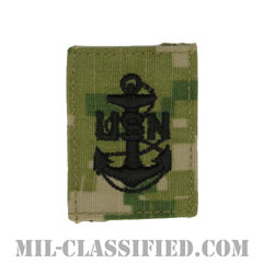 上等兵曹(Chief Petty Officer)[NWU Type3(AOR2)/キャップ用階級章/パッチ]の画像