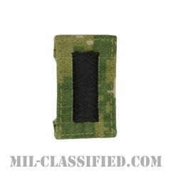 中尉(Lieutenant Junior Grade)[NWU Type3(AOR2)/キャップ用階級章/パッチ]の画像