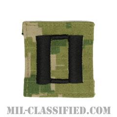 大尉(Lieutenant)[NWU Type3(AOR2)/キャップ用階級章/パッチ]の画像