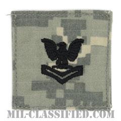 二等兵曹(Petty Officer Second Class)[UCP(ACU)/海軍階級章/ベルクロ付パッチ]の画像