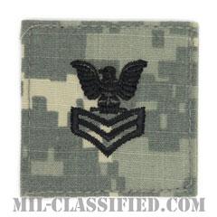 一等兵曹(Petty Officer First Class)[UCP(ACU)/海軍階級章/ベルクロ付パッチ]の画像