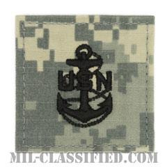 上等兵曹(Chief Petty Officer)[UCP(ACU)/海軍階級章/ベルクロ付パッチ]の画像
