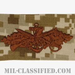 Seabee Combat Warfare Specialist[NWU Type2(AOR1)/生地テープパッチ]の画像