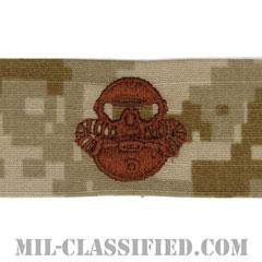 Marine Corps Combatant Diver [NWU Type2(AOR1)/生地テープパッチ]の画像