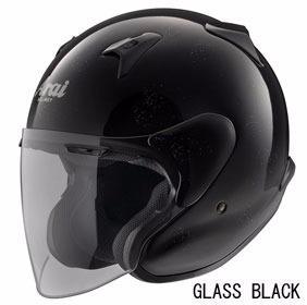 ARAI MZ-F XO グラスブラックの画像