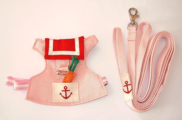 セーラーカラーハーネス(ピンク)の画像