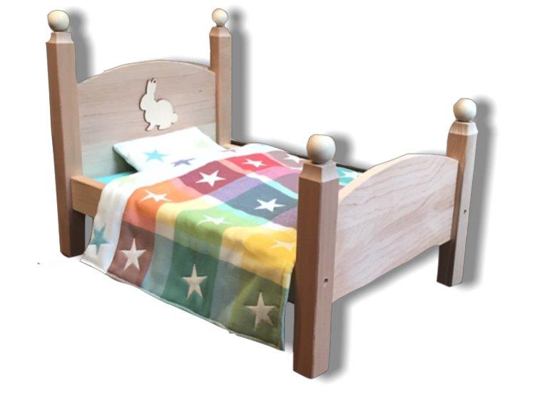 うちのうさぎ ON THE BED(ブルー)の画像