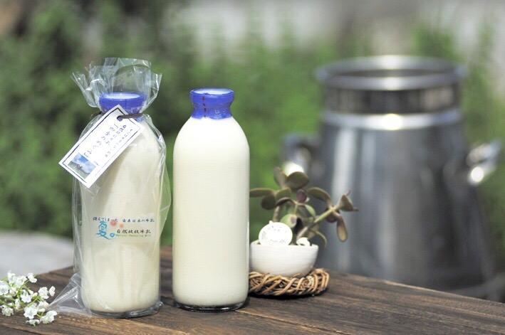 自然放牧牛乳「四季のめぐみ」720ml×4本画像