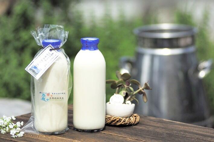 自然放牧牛乳「四季のめぐみ」720ml×2本の画像