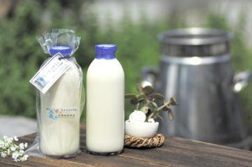 自然放牧牛乳「四季のめぐみ」720ml×3本の画像