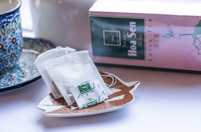 蓮花茶 ~フクロン社~ 1箱25パック画像