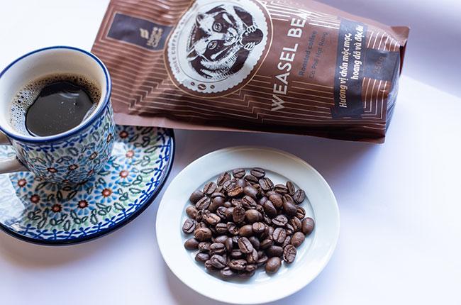ジャコウネコ珈琲 ~ハニーコヒー~ 豆1袋250gの画像