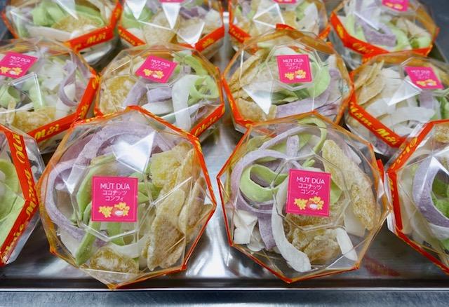 mứt dừa (ムッヤーイ)テト定番お菓子の画像