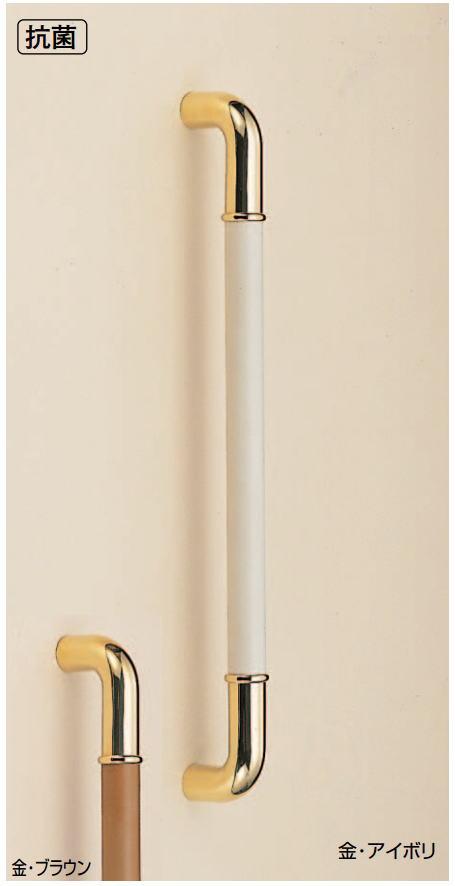 真鍮丸棒取手(両面用)抗菌 φ32 真鍮(金)ハンドル DIY  No.165 標準扉厚:26~45mm画像