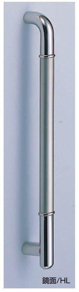 ステンF型丸棒取手(両面用)(No.170 φ32 扉厚:30~41mm ・ No.176 φ25 扉厚:21~40mm)ステンレスハンドル DIY(03376)画像