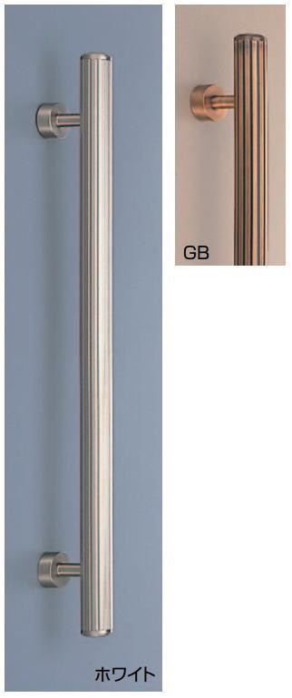 カロライン取手(両面用) No.43 φ28 真鍮バーハンドル 標準扉厚:27~41mm画像