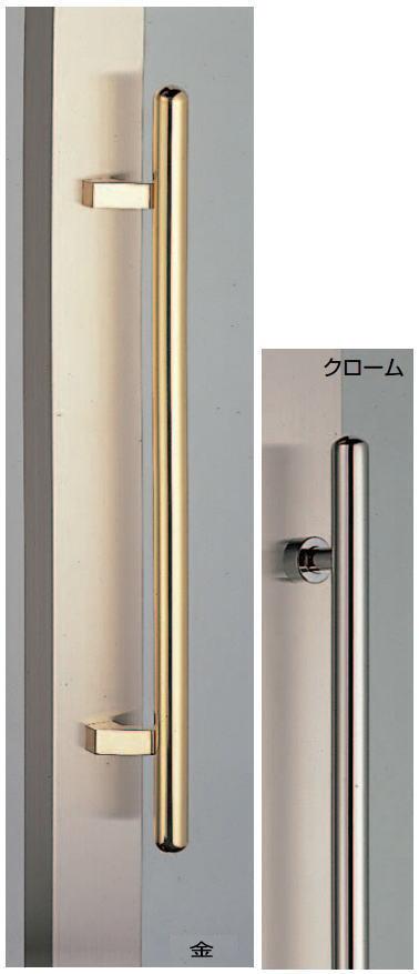 カプセル取手(両面用)真鍮ハンドル  No.302(G.L) φ25画像