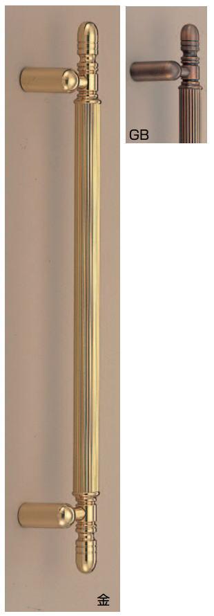 モンマルトル取手(両面用)アンティーク真鍮ハンドル No.95 φ25 標準扉厚:33~45mm画像