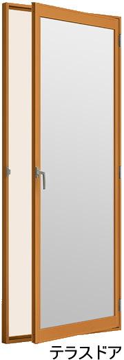 インプラス内窓 テラスドア 標準仕様 W300~500×H450~2200画像