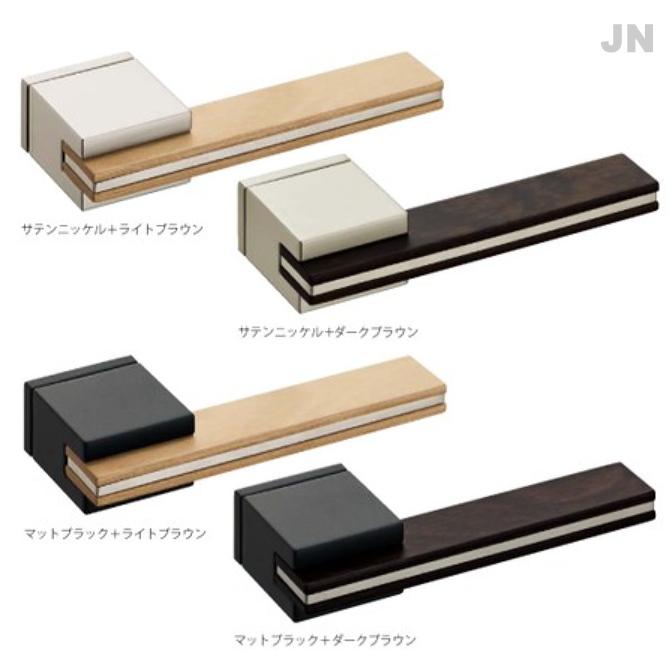 レバーハンドル JN 装飾プレート付 カワジュン製 KAWAJUN 空錠・表示錠・間仕切錠画像
