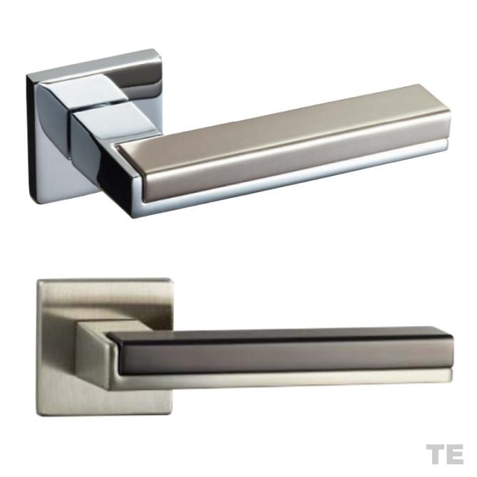 レバーハンドル TE 角座 T2プレート カワジュン製 KAWAJUN 空錠・表示錠・間仕切錠画像
