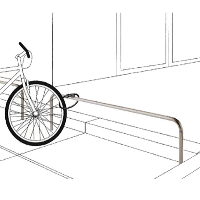 自転車車輪止め用タイプ 帝金【Teikin・BARICAR】画像