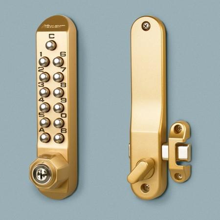 キーレックス 長沢製作所 Nagasawa Keylex500 K582TM(-9) キー付きタイプ 鍵閉め忘れ 鍵盗難 ピッキング対策 防止2ロック補助錠画像