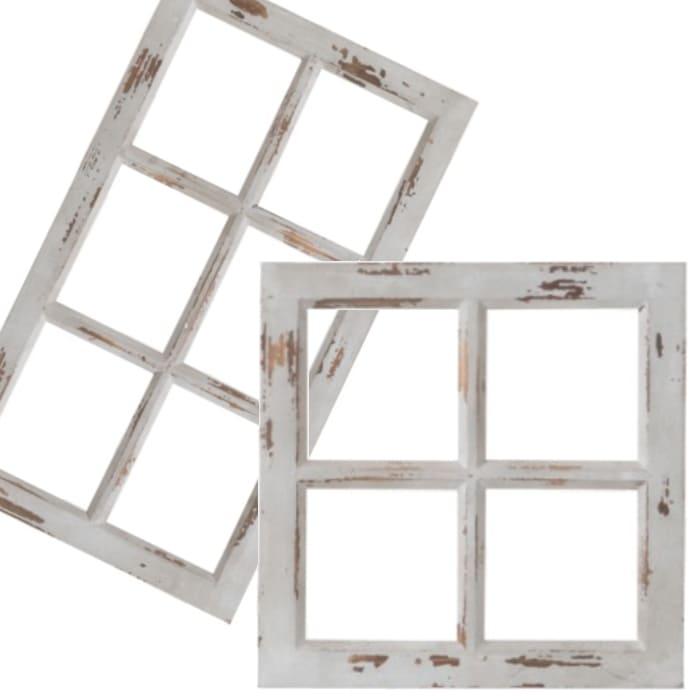 アンティーク 壁面窓フレーム ディスプレー用窓枠(壁掛け・置き式)画像