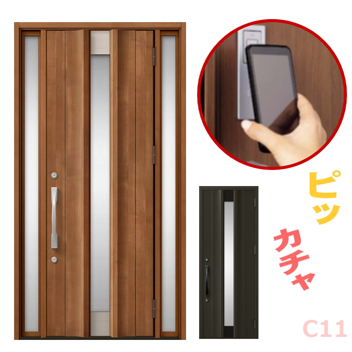 玄関ドア C11型 プレナスX オートロック・タッチキー対応画像