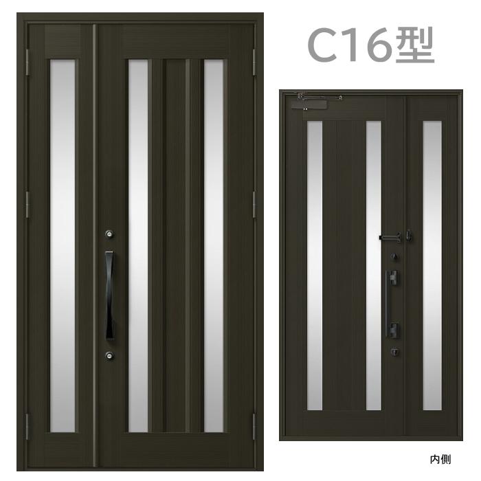 玄関ドア C16型 プレナスX オートロック・タッチキー対応画像