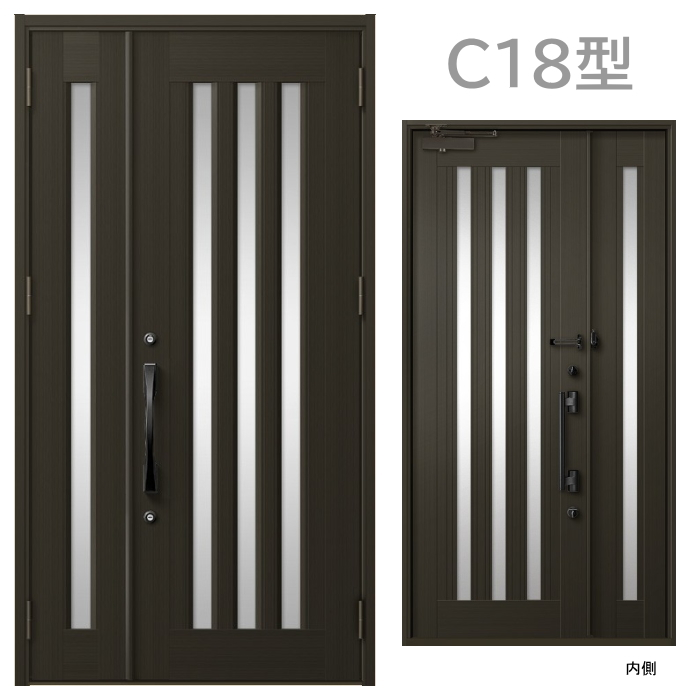 DIY設置可能 玄関ドア
