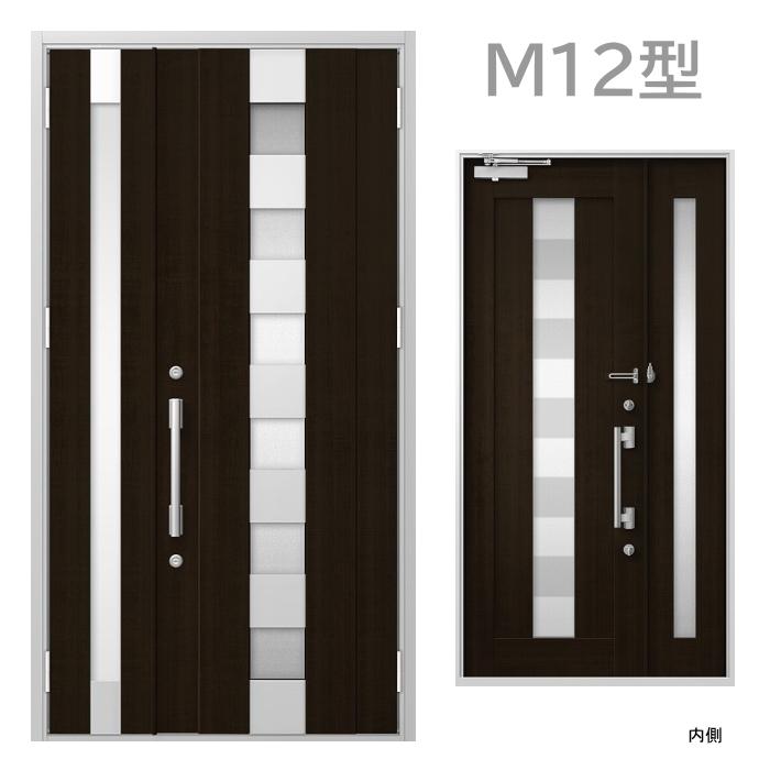 玄関ドア M12型 プレナスX オートロック・タッチキー対応画像