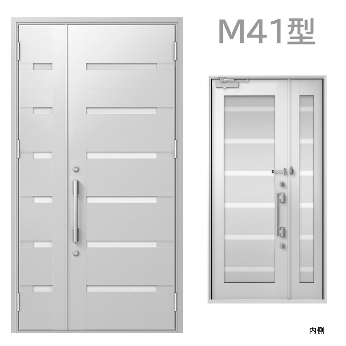 玄関ドア M41型 プレナスX オートロック・タッチキー対応画像