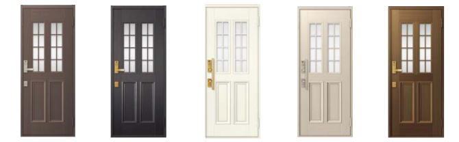 12片開きドア
