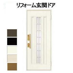 玄関ドア20型 クリエラR 片開きドア 親子ドア センター格子ガラス組込み リクシル LIXIL画像