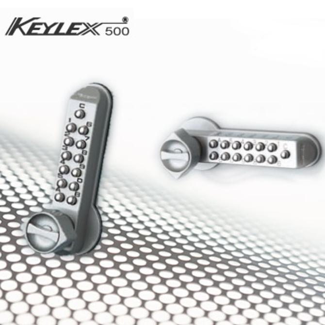 キーレックス 長沢製作所 Nagasawa Keylex500 框扉対応玉座取替錠 縦横画像